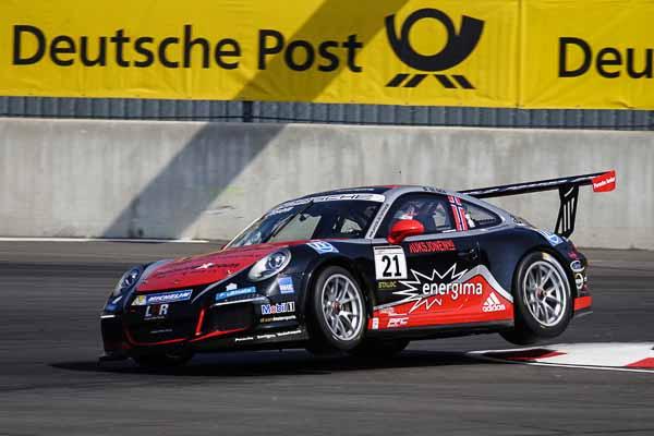 Dennis Olsen (N) Porsche Carrera Cup Deutschland - 04 Lausitzring 2016