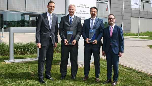 Porsche wins award