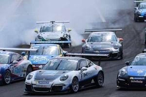 Ryan Cullen (GB)  Porsche Mobil 1 Supercup Budapest 2016
