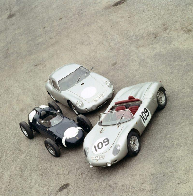 porsche 718 RS60 , Porsche 718:2, Porsche 356 Carrera Abarth