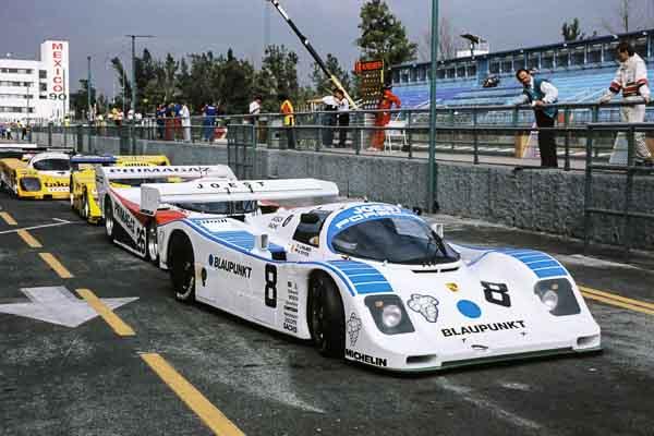 07.10.1990, Porsche 962 C, Hans-Joachim Stuck, Jonathan Palmer, 480-kilometre race Mexiko City