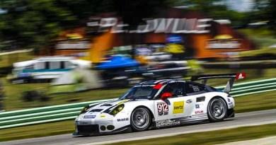 Porsche 911 RSR, Porsche North America: Earl Bamber, Frédéric Makowiecki Virginia