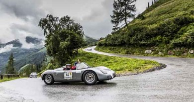 Porsche Museum at Ennstal Classic with eleven rare sportscars
