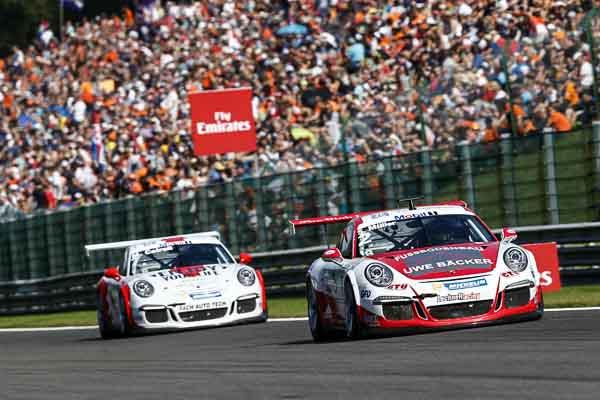 Sven Müller (D)  Porsche Mobil 1 Supercup Spa 2016