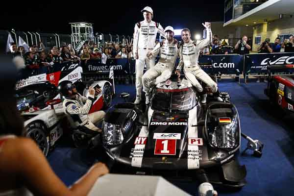 Porsche 919 Hybrid, Porsche Team: Brendon Hartley, Mark Webber, Timo Bernhard