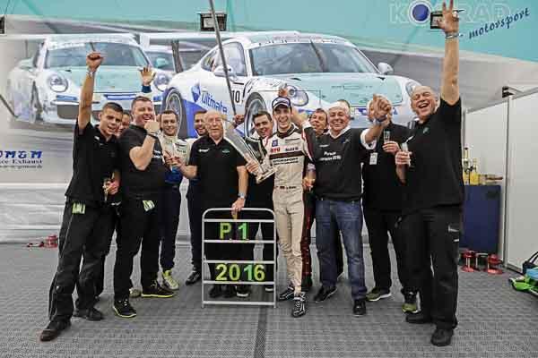 Champion: Sven Müller (D) Porsche Carrera Cup Deutschland - 08 Hockenheimring 2016