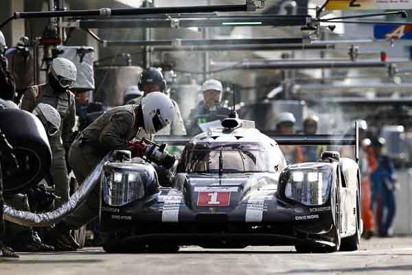 FIA WEC 6H Fuji - Porsche 919 Hybrid, Porsche Team: Timo Bernhard, Brendon Hartley, Mark Webber