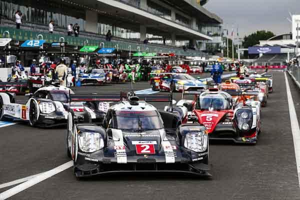 Mexico 2016: Porsche 919 Hybrid, Porsche Team: Romain Dumas, Neel Jani, Marc Lieb