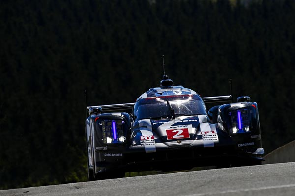 Spa-Francorchamps (B) 2016: Porsche 919 Hybrid, Porsche Team: Romain Dumas, Neel Jani, Marc Lieb