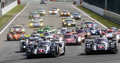 Spa-Francorchamps (B) 2016: Porsche 919 Hybrid, Porsche Team 1: Timo Bernhard, Brendon Hartley, Mark Webber; Porsche Team 2: Romain Dumas, Neel Jani, Marc Lieb