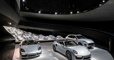 Re-design of the Porsche pavilion in Wolfsburg