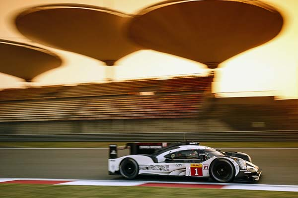 FIA WEC LMP1 Shanghai Porsche 919 Hybrid, Porsche Team: Timo Bernhard, Brendon Hartley, Mark Webber