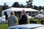 Rolf Sprenger, Wolfgang Porsche and Steve Heinrichs
