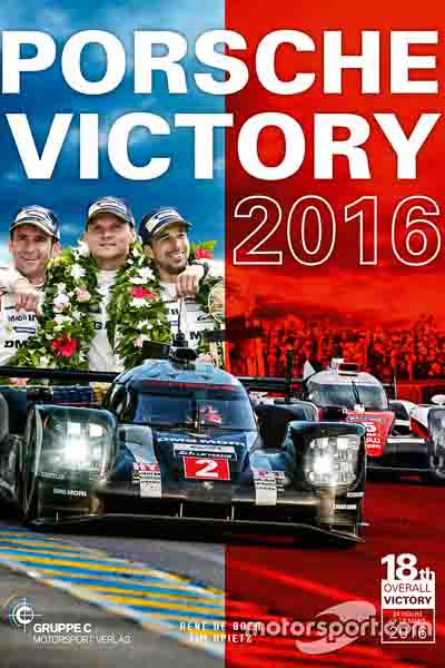 Porsche Victory 2016 Book Cover