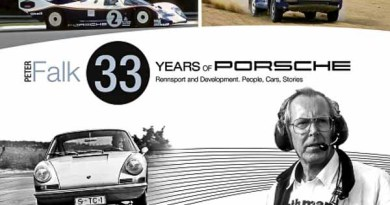 Peter Falk 33 years of Porsche Rennsport Development