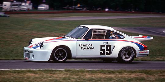 Peter Gregg Brumos Porsche RSR Mid Ohio