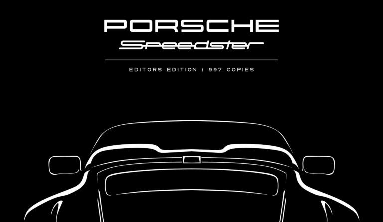 Porsche Speedster Editors Edition Berlin Motor Books Andreas Gabriel