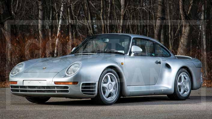 Porsche 959 Komfort Scottsdale Auctions 2017
