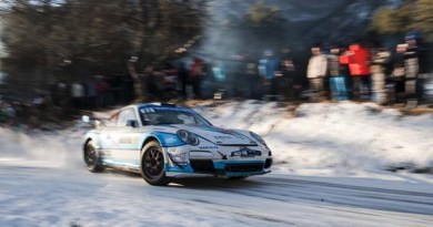 Romain Dumas Monte Carl0 2017 Porsche 911 GT3 RS