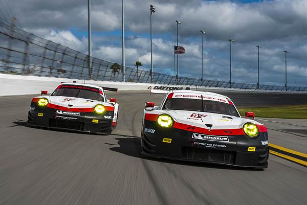 Race Debut of the new Porsche 911 RSR at the Rolex24 Daytona