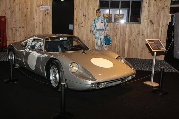 The Porsche 904 that served as a test mule for the development of many new tires by Michelin