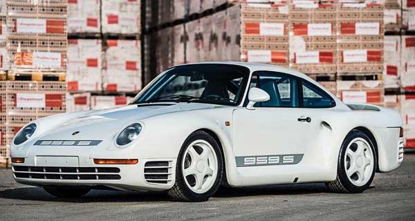 1 of 29 built Porsche 959 Sport, first owned by Vasek Polak Jr