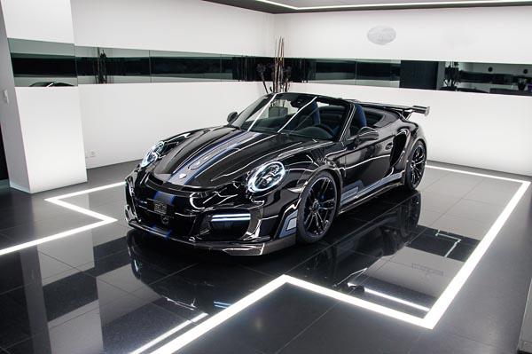 TechArt GTStreet R Cabriolet Porsche 911 Turbo Geneva International Motor Show