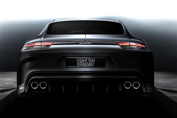 TechArt GrandGT Preview Porsche Panamera Turbo Geneva International Motorshow