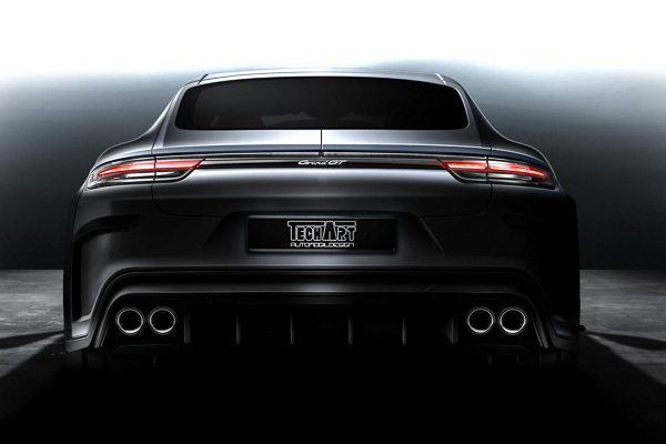 TechArt GrandGT Preview Porsche Panamera Turbo Geneva International Motorshow