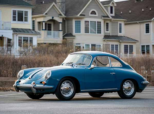 1963 Porsche 356 B Carrera 2 'Sunroof' Coupe by Reutter