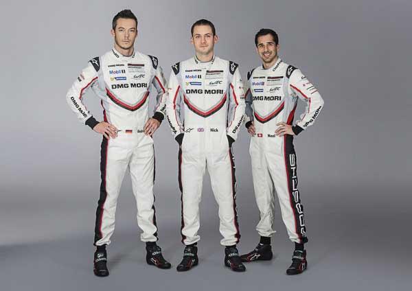 André Lotterer, Nick Tandy, Neel Jani, Porsche 919 Hybrid, number 1