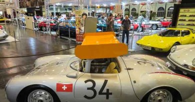 ex Michael May Porsche 550-0031 at the Techno Classica 2017 Germany