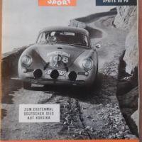 AUTO MOTOR UND SPORT 3.12. - 25/1960 Porsche Carerra