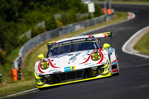 2017 Nurburgring 24h - 911 GT3 R (59), Manthey Racing- Sven Müller, Hari Proczyk, Randy Walls, Steve Smith-2