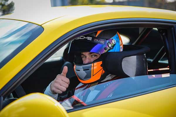 Porsche test driver Lars Kern