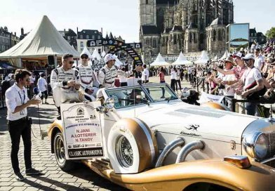 The day before the race : drivers parade in Le Mans and visit to the Porsche Employee Camp