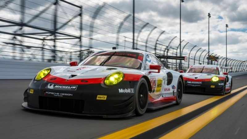 Porsche Formula E 911 RSR Daytona