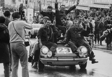 50th anniversary celebration of 1st Porsche victory at Spa 24H