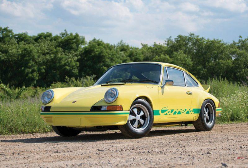 RM Sotheby Auction Monterey Porsche 911 RS Lightweight