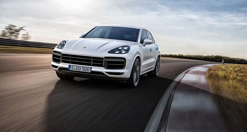 2017 Porsche Cayenne Turbo