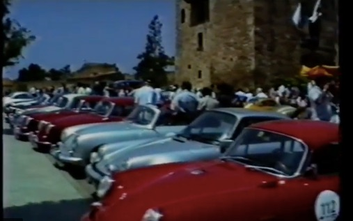 Porsche 356 Meeting Spain Footage
