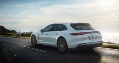 Porsche Panemara Sport Turismo becomes a plug-in hybrid