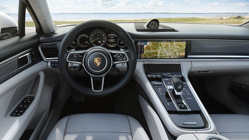 Interior Panamera Turbo S E-Hybrid Sport Turismo, 2017, Porsche AG