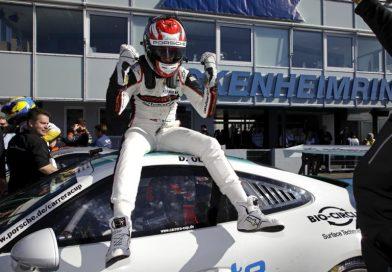 Dennis Olsen wins the championship (Porsche Carrera Cup Deutschland)