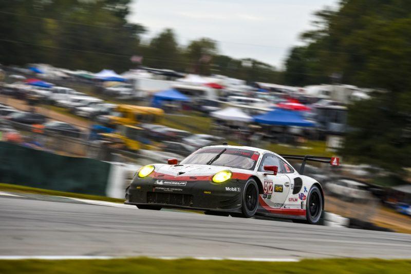 Porsche 911 RSR, Porsche GT Team (912) Laurens Vanthoor, Gianmaria Bruni, Earl Bamber