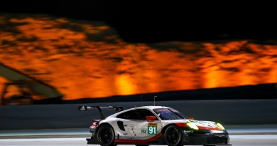 FIA WEC GT Bahrain Porsche 911 RSR (91), Porsche GT Team: Richard Lietz, Frederic Makowiecki