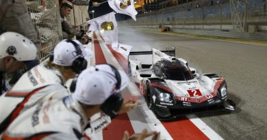 Last race of the Porsche 919 LMP1 FIA WEC