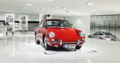 Porsche 911 (901-057) shown for the first time in the Porsche Mu