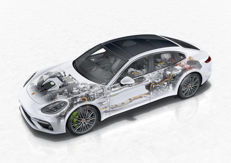 Porsche E-Performance Panamera Turbo S E-Hybrid X-ray