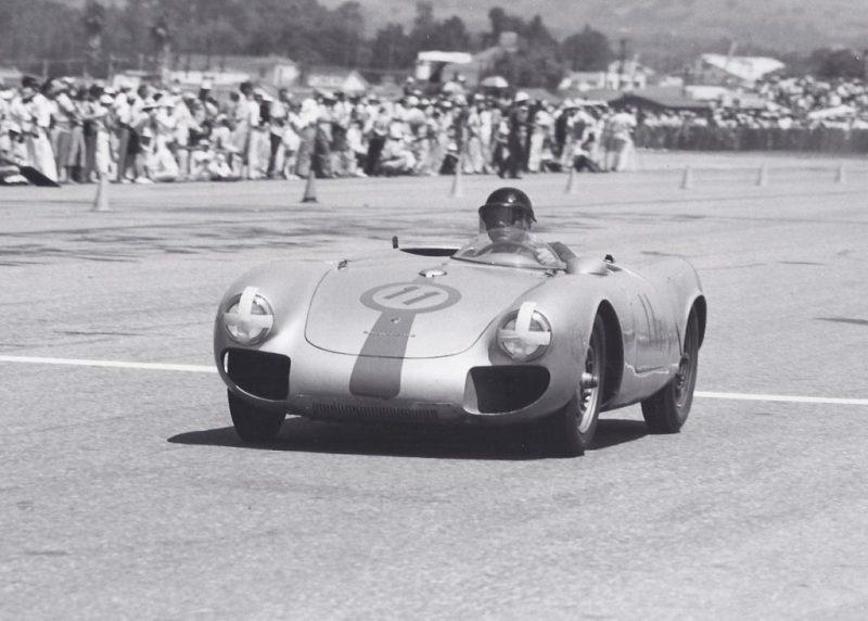 John von Neumann in Porsche 550